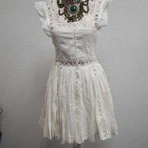 comfortable cute off white dress